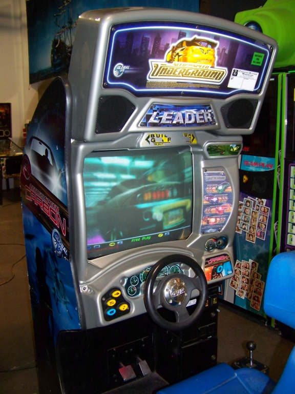 Lot 206 - NEED FOR SPEED UNDERGROUND RACING ARCADE GAME