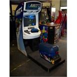 ARCTIC THUNDER RACING ARCADE GAME