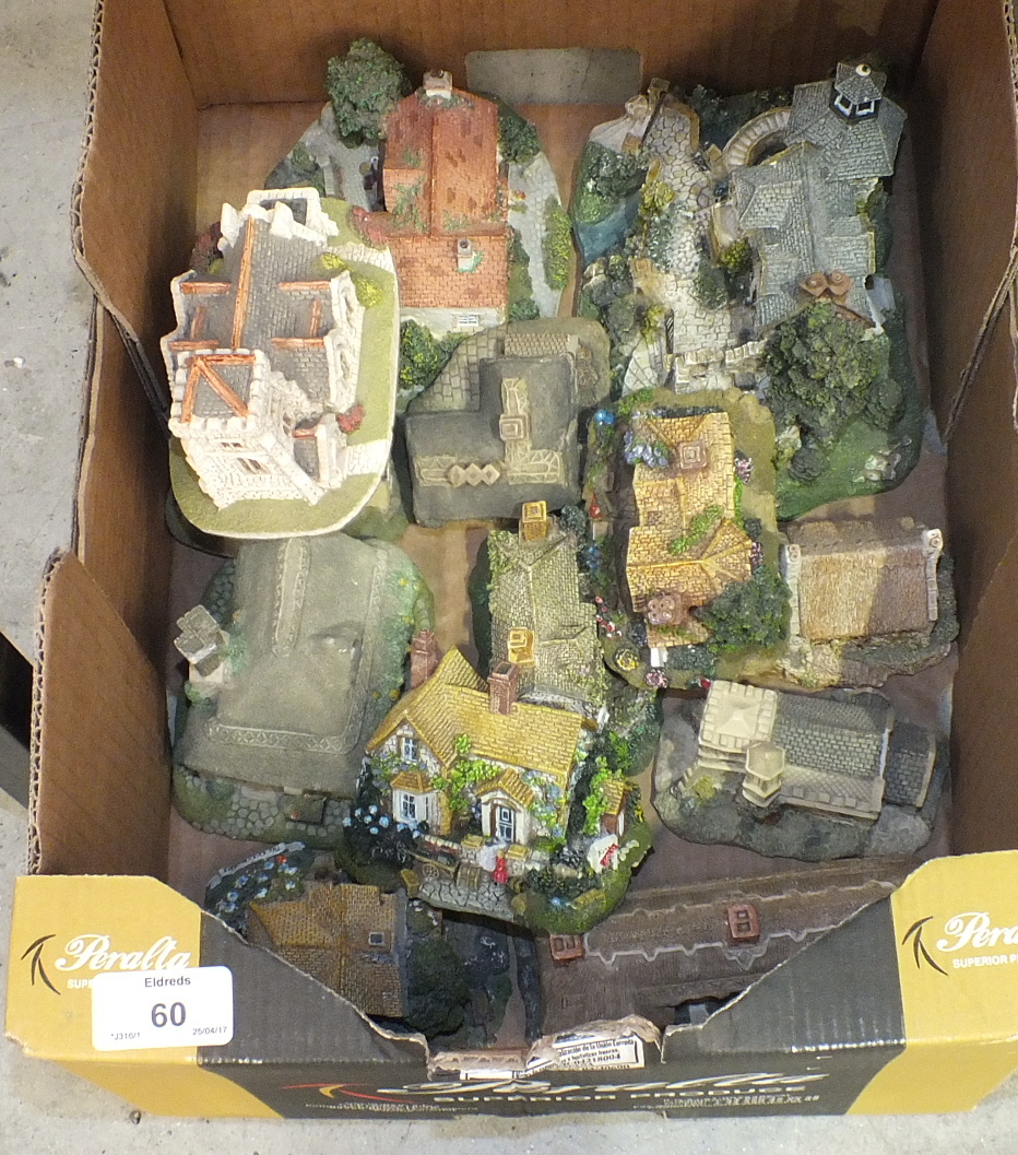 A collection of sixteen boxed 'Danbury Mint' models by Jane Hart, including 'Days of the Week', '