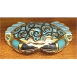 "A Royal Crown Derby paperweight, ""Cromer Crab"", gold stopper, 4cm high, limited availability to"