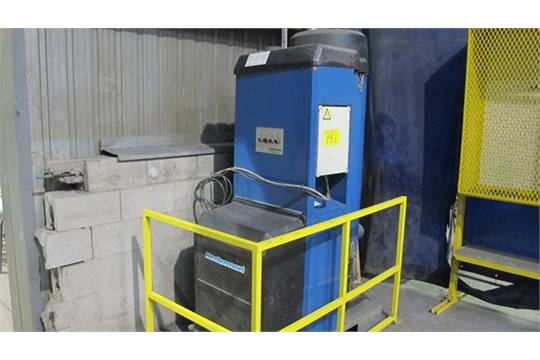 Nederman Epak 300 High Vacuum System W Venting And 10 Hp Motor S N 19047