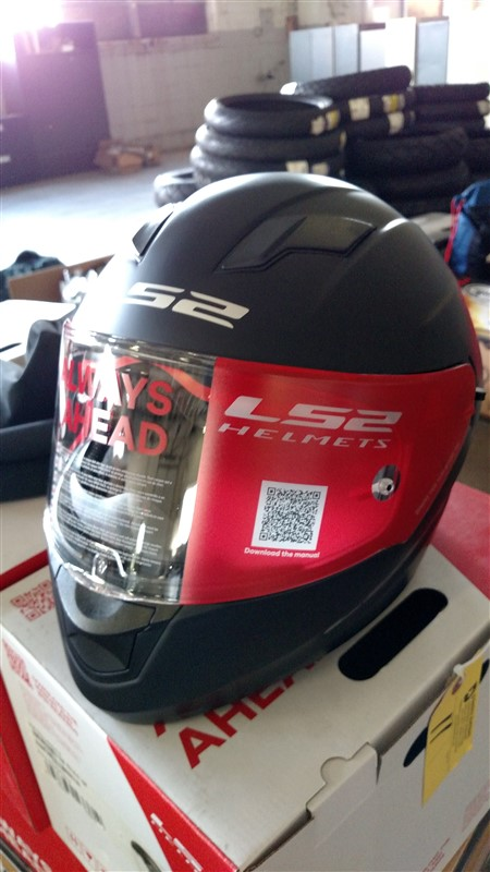 Lot 11 - (9) NEW LS2 Motorcycle Helmets (Assorted Sizes) - VHDA: 7.25% Sales Tax charged - (9 x Bid)