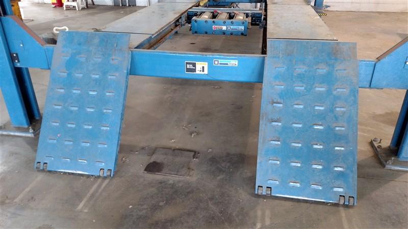 Lot 6 - Hunter L424-GM-16000 / 16,000 Lb. 4-Post Surface Alignment-Rack Lift s/n K06625