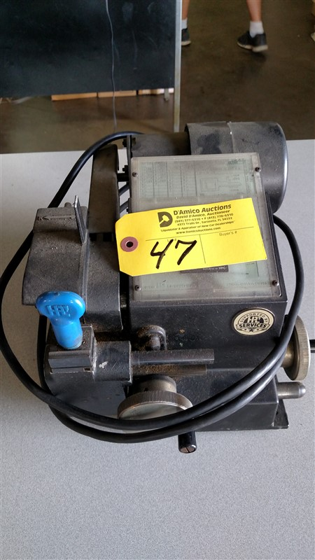 Lot 47 - HPL Key Machine