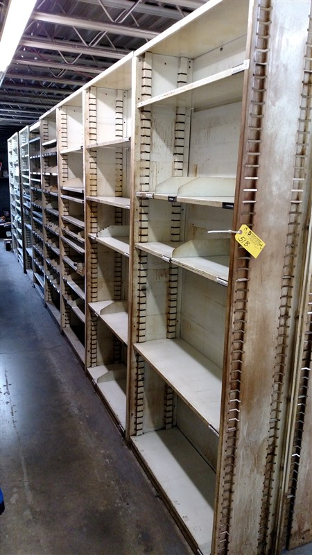 "Lot 51B - (14) Parts Shelving Bins (12"" D each) - (14 x Bid)"