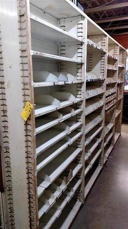 """Lot 51D - (8) Parts Shelving Bins (12"""" D each) - (8 x Bid)"""