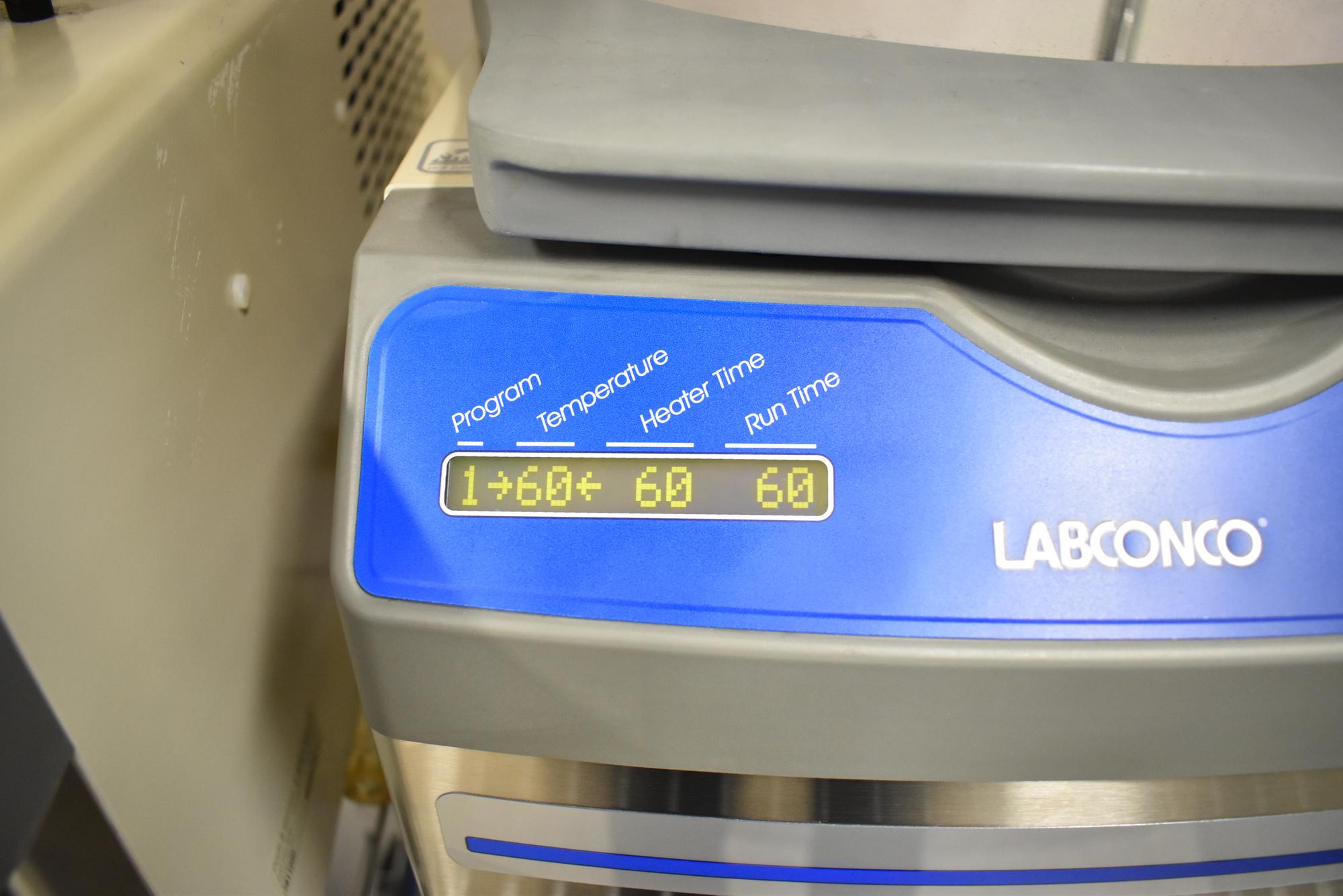 LABCONCO CENTRI-VAP CENTRIFUGAL CONCENTRATOR SYSTEM WITH LABCONCO CENTRIVAP COLD TRAP, ILMVAC - Image 2 of 14