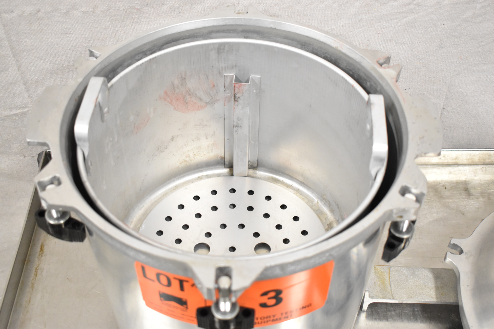 """ALL AMERICAN 25X-1 ELECTRIC PRESSURE STEAM STERILIZER WITH 11.5"""" DIAMETER AND 8"""" ALUMINUM POT, 260 - Image 4 of 4"""