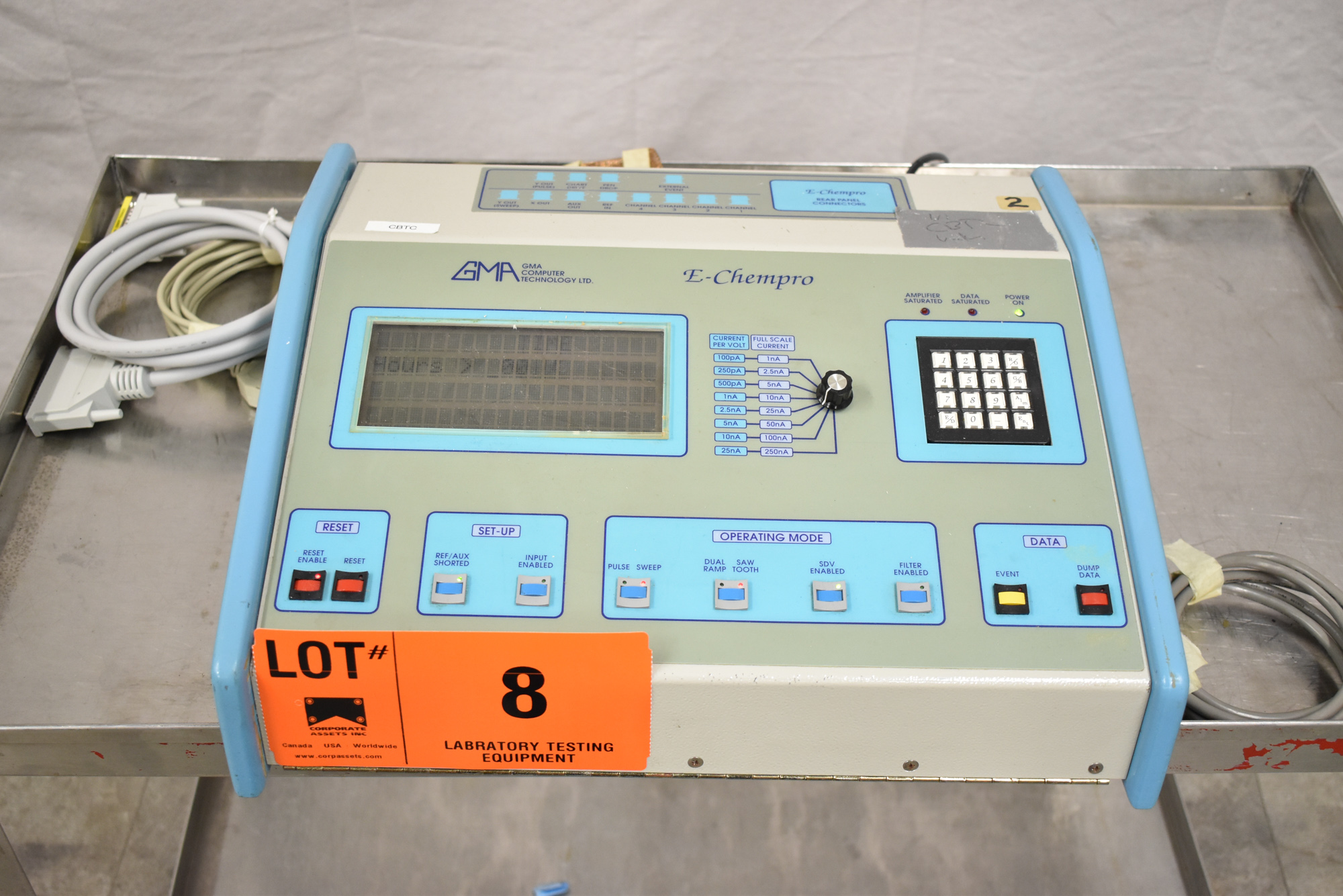 GMA E-CHEMPRO 1/220/50 HIGH SPEED SAMPLER WITH ATEN UC-232A USB TO SERIAL CONVERTER, S/N: 0002 [$ - Image 5 of 5