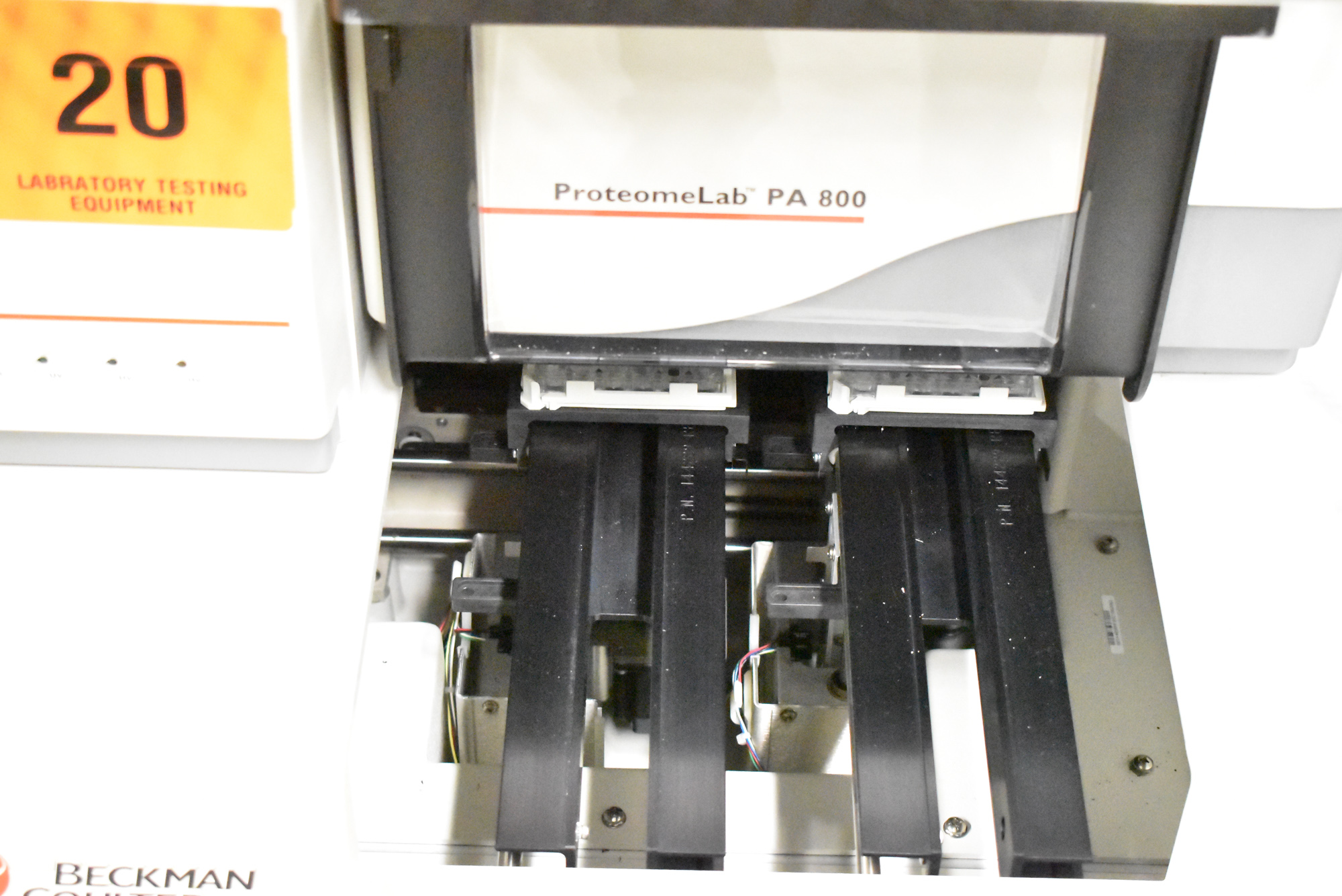 BECKMAN COULTER PROTEOMELAB PA800 PROTEIN CHARACTERIZATION SYSTEM WITH 32 KARAT VER 8.0 CD'S, - Image 8 of 10