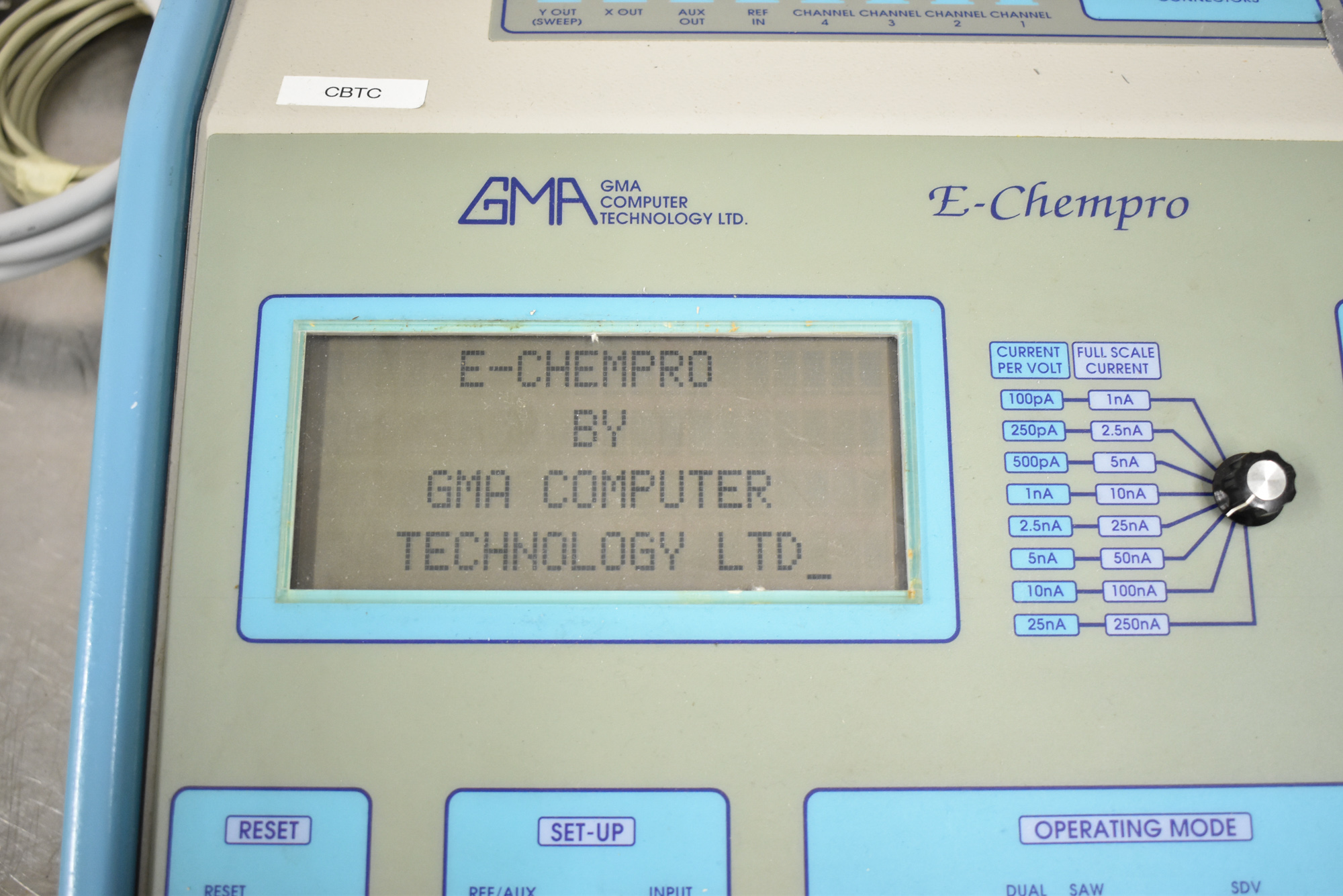 GMA E-CHEMPRO 1/220/50 HIGH SPEED SAMPLER WITH ATEN UC-232A USB TO SERIAL CONVERTER, S/N: 0002 [$ - Image 2 of 5