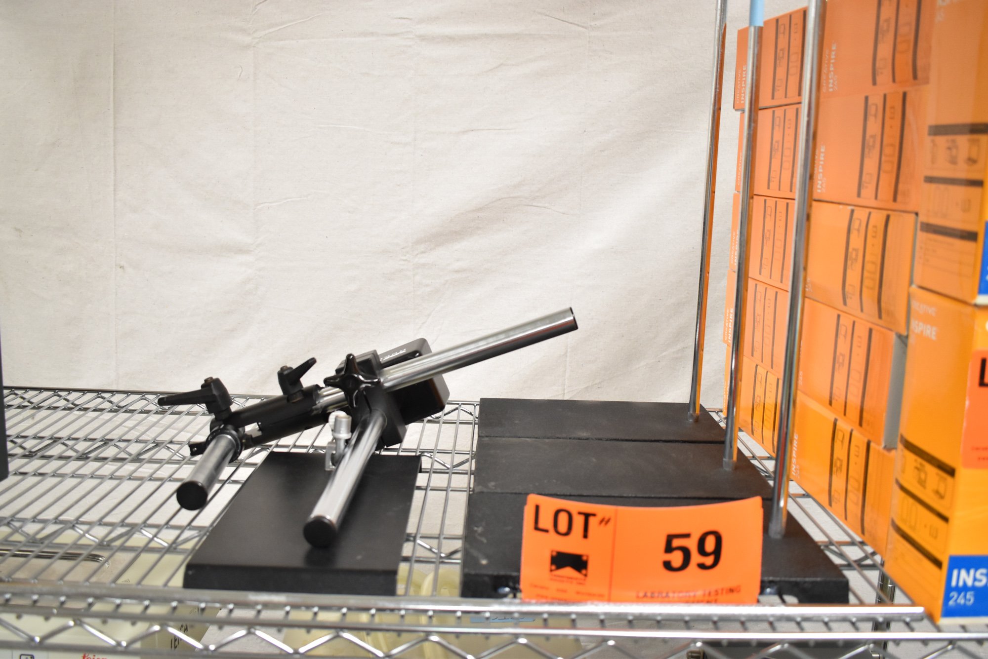 LOT/ LAB STANDS [$10 USD OPTIONAL LOADING FEE - CONTACT PICKUP@CORPASSETS.COM FOR DETAILS]