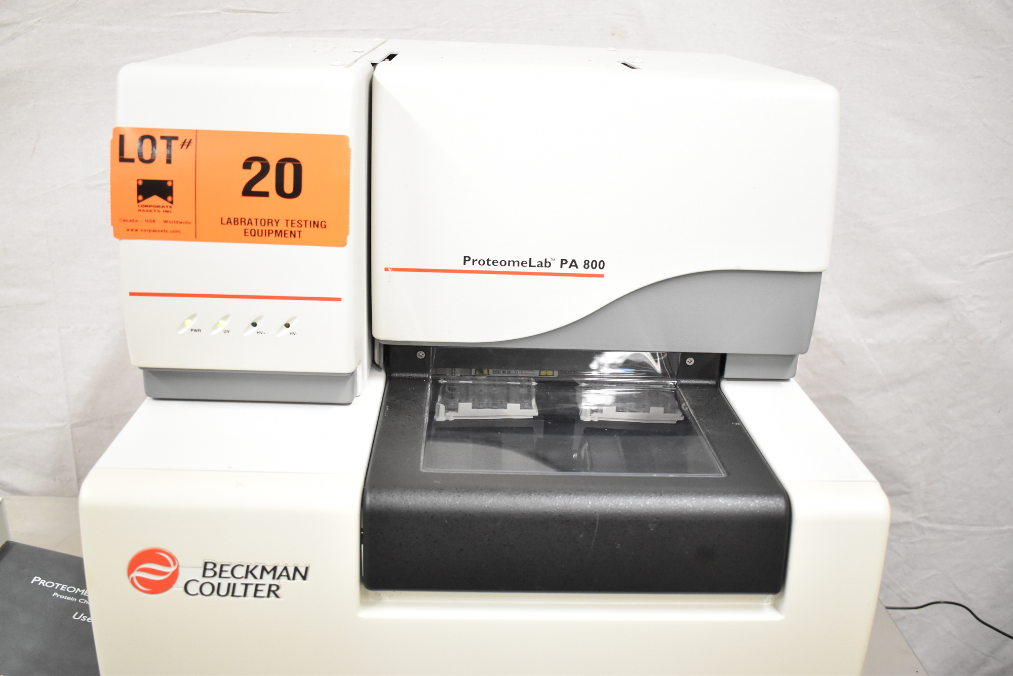 BECKMAN COULTER PROTEOMELAB PA800 PROTEIN CHARACTERIZATION SYSTEM WITH 32 KARAT VER 8.0 CD'S, - Image 5 of 10