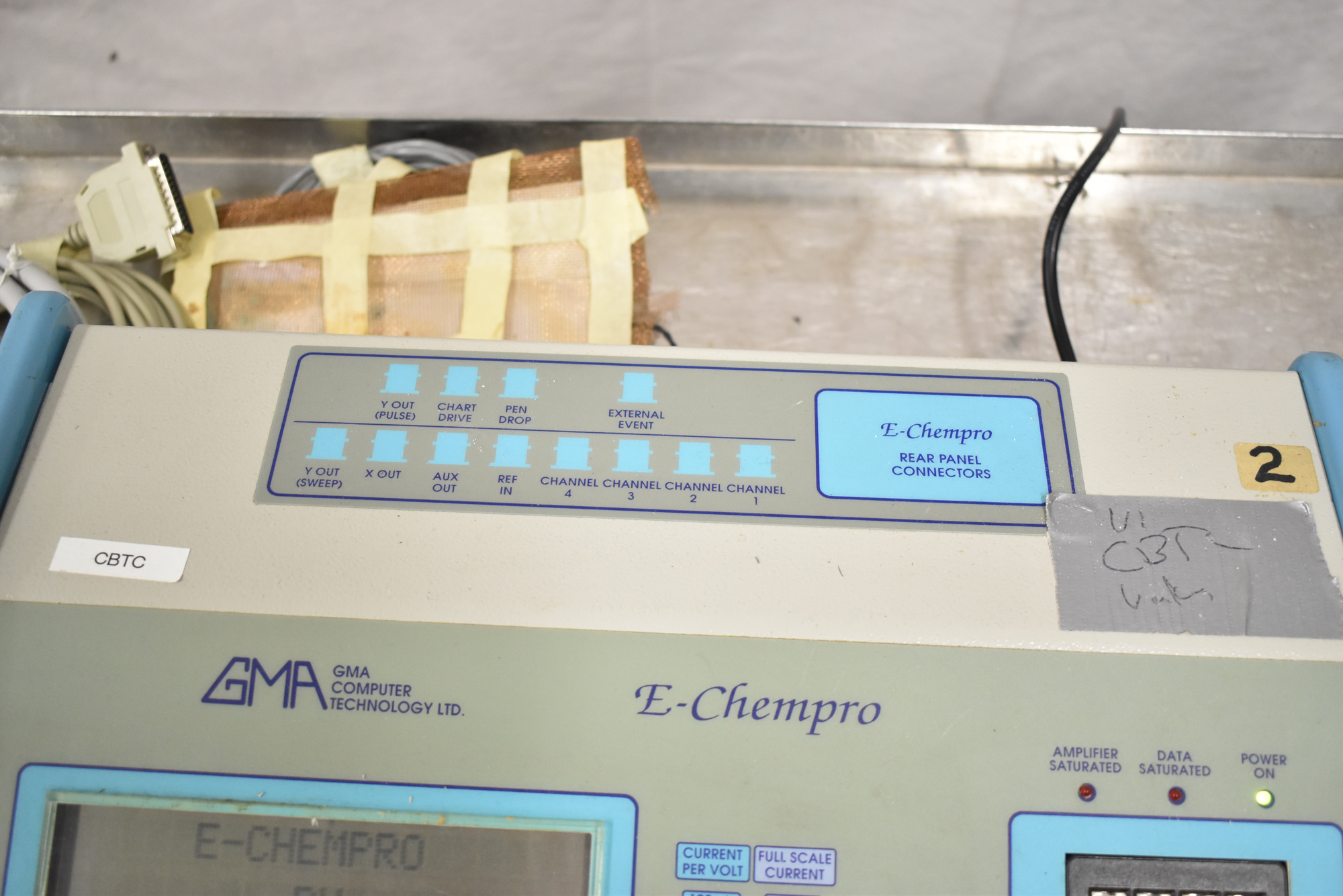 GMA E-CHEMPRO 1/220/50 HIGH SPEED SAMPLER WITH ATEN UC-232A USB TO SERIAL CONVERTER, S/N: 0002 [$ - Image 3 of 5