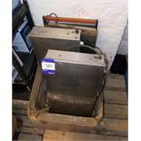 4 x Assorted electric hot plates