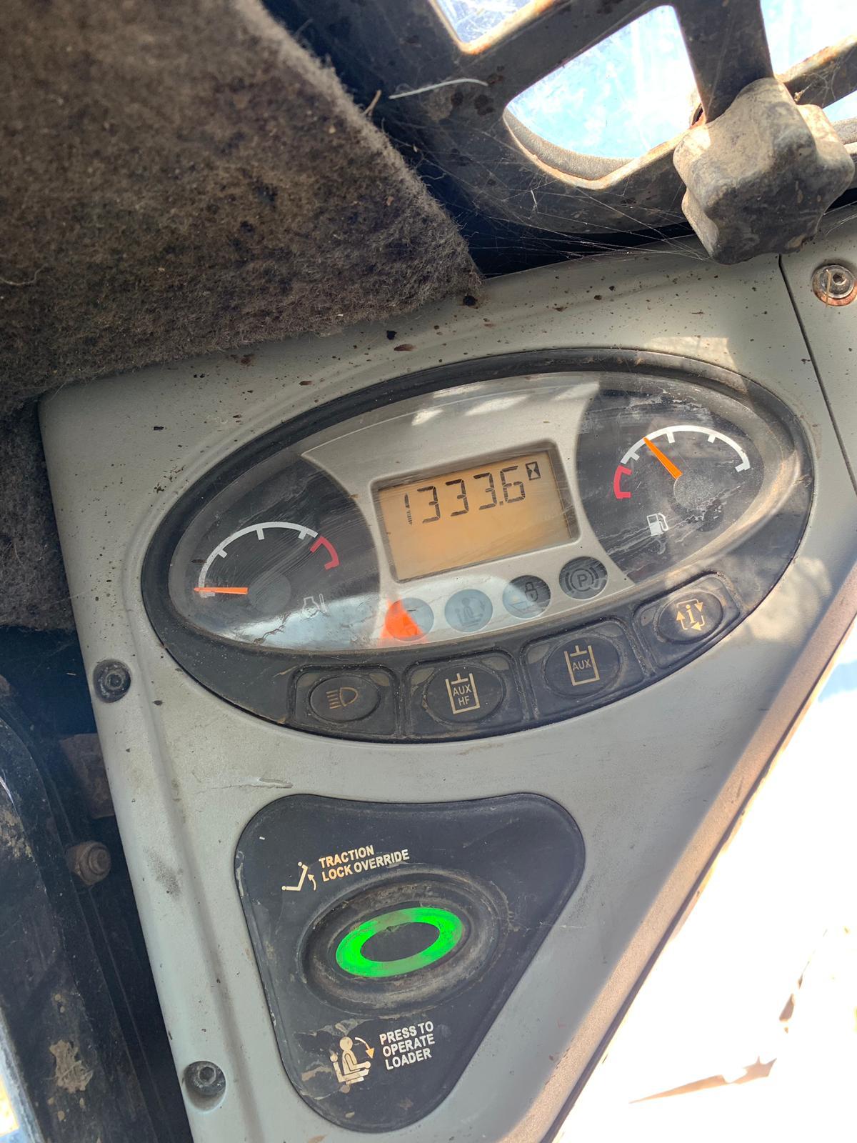 Lot 110 - BOBCAT COMPACT TRACKED LOADER, MODEL T110, C/W FORKS & BUCKET *PLUS VAT*