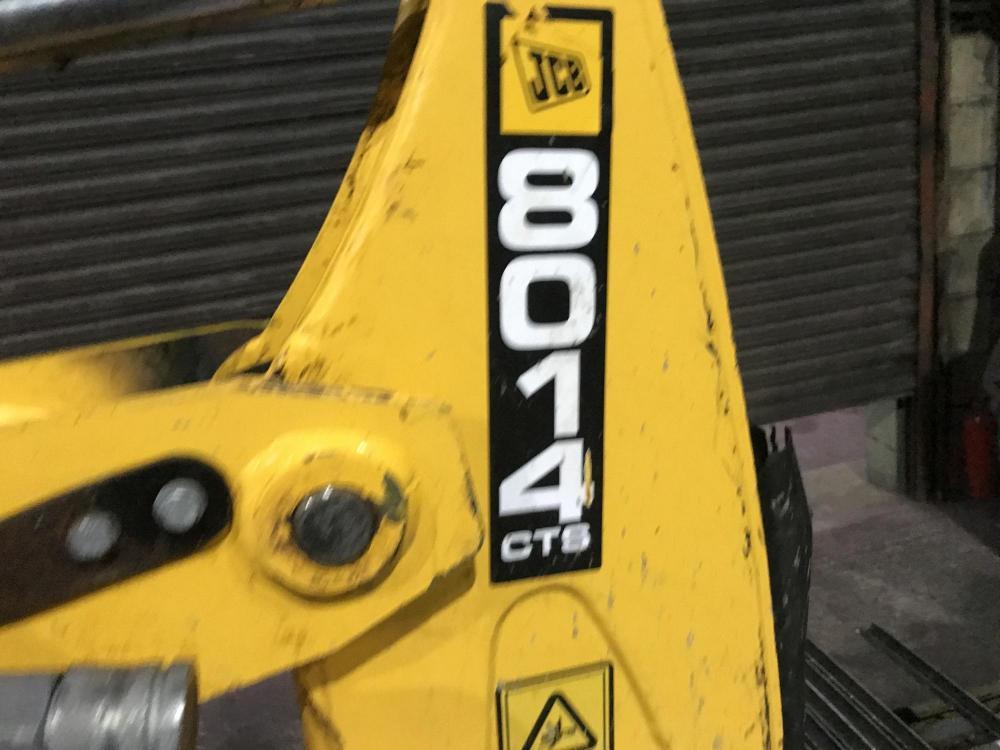 Lot 70 - JCB 8014 CTS TRACKED MINI DIGGER / EXCAVATOR, YEAR 2013, 1383 HOURS, C/W 2 X BUCKETS *PLUS VAT*