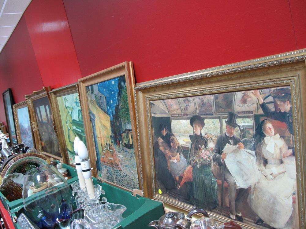 Lot 15 - Bruce Lattig, Impressionist and other prints. (6)