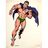 Advertising Poster Superheroes Submariner Marvel