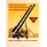 Advertising Poster Farm Equipment Ludwig Hohlwein
