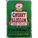 Advertising Poster Cherry Blossom Shoe Polish Clown