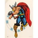 Advertising Poster Superheroes Thor Marvel