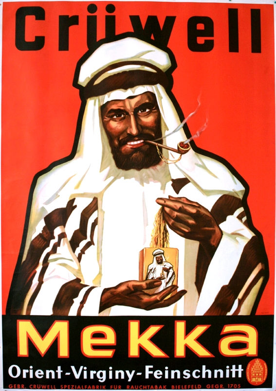 Advertising Poster Mekka Tobacco Cruewell
