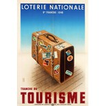 Advertising Poster Loterie Nationale Tourism