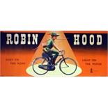 Advertising Poster Raleigh - Robin Hood