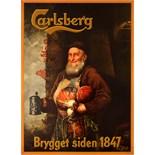 Advertising Poster Carlsberg Beer Since 1847