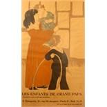 Advertising Poster Les Enfants de Grand Papa Poster Show