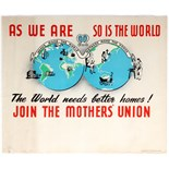 Advertising Poster Join The Mothers Union