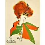 Advertising Poster L'Oreal de Paris