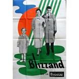 Advertising Poster Blizzand Boussac Raincoats