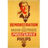 Advertising Poster Philips - PhiliShave