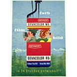 Advertising Poster Gevaert Gevacolor Film