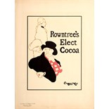 Advertising Poster Rowntrees Elect Cocoa Beggarstaff Maitres Affiche