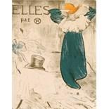 Advertising Poster Toulouse Lautrec Elles par Toulouse-Lautrec