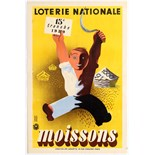 Advertising Poster Loterie Nationale - Moissons