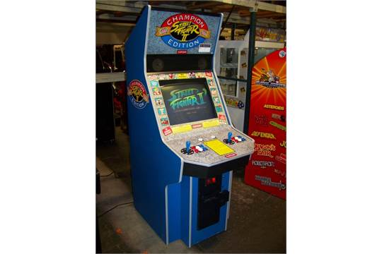 Street Fighter Ii Champ Dedicated Big Blue Capcom Item Is In Used