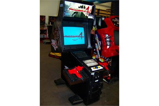 House Of The Dead 4 Shooter Arcade Game Sega Item Is In Used
