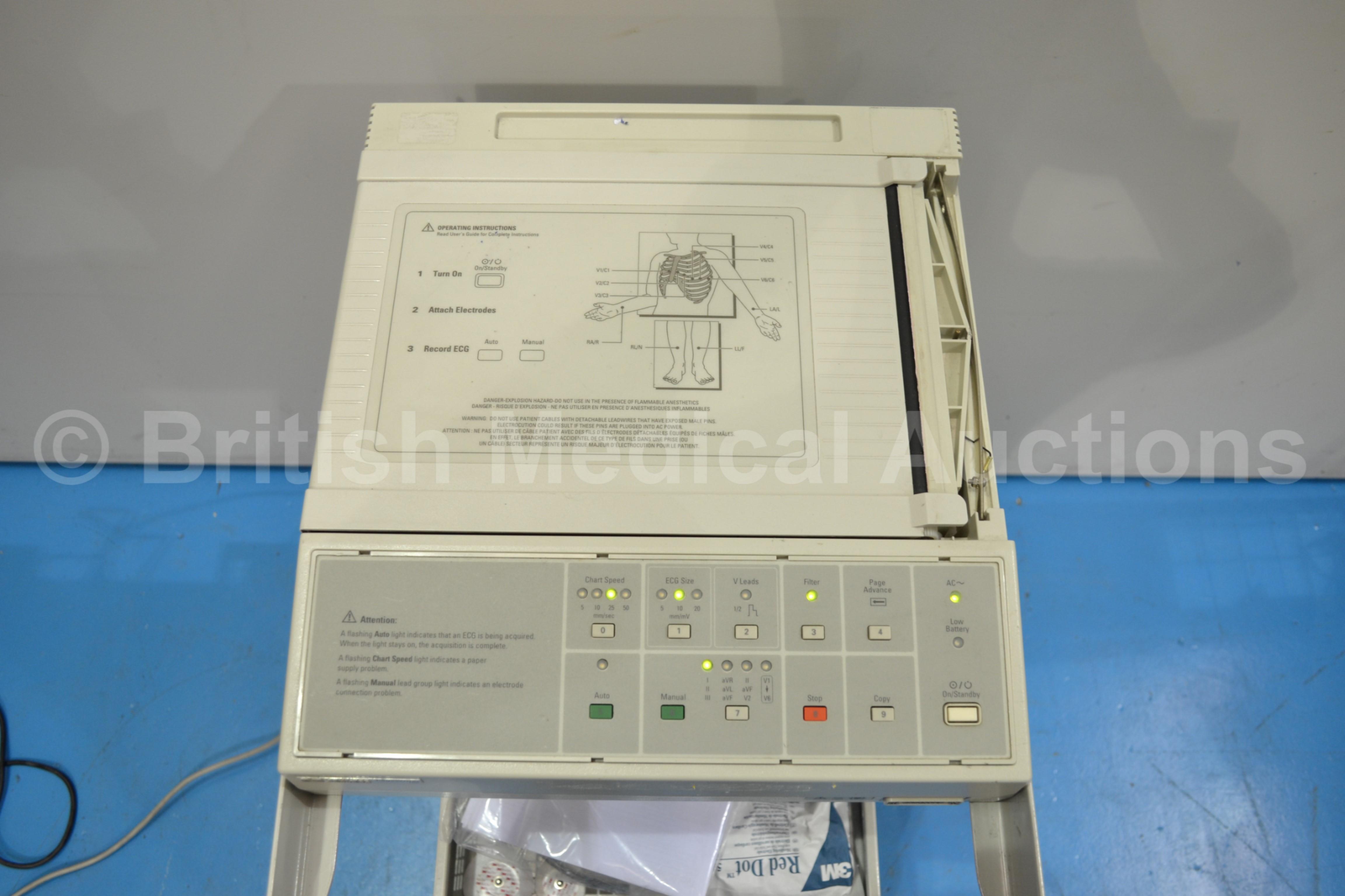 hewlett packard pagewriter 100 machine