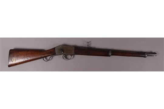 A MARTINI HENRY IC1 CAVALRY CARBINE MK1 c 1880,  577 calibre 21