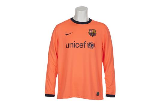 A Nike brand FC Barcelona 2009 jersey match worn by Andr  233 s ... 9df8264f0