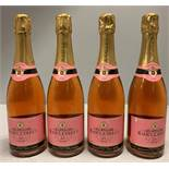 4 x 750ml bottles Raoul Collet Brut Rose