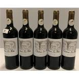 5 x 750ml bottles Chateau La Hitte - 201