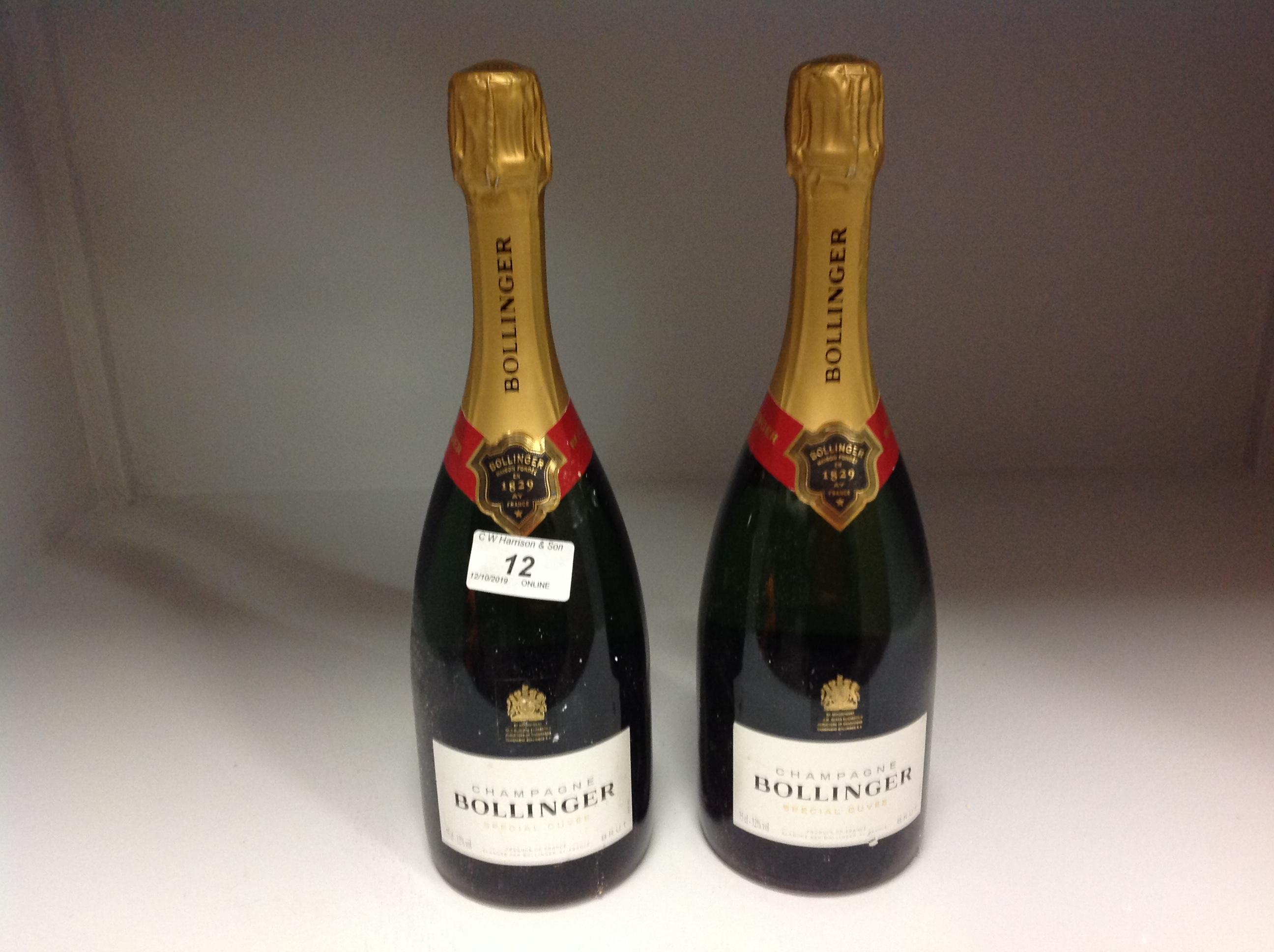 Lot 12 - 2 x 75cl bottles Bollinger Brut Special
