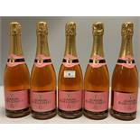 5 x 750ml bottles Raoul Collet Brut Rose