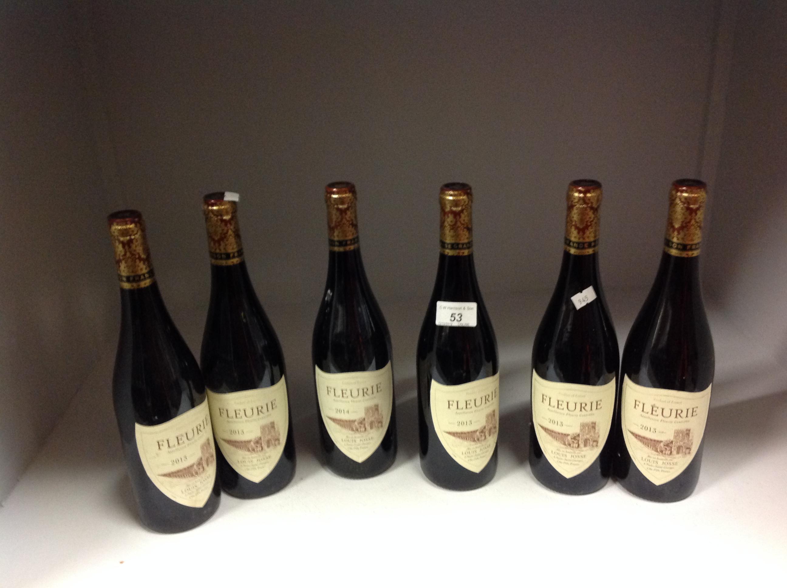 6 x 750ml bottles Louis Josse Fleurie - Image 2 of 2
