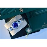 *Diamond* Rolex 'Lady' DateJust 26 - Blue Pearl